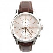 Hugo Boss 1513280 pelle martellata marrone Cronografo Orologio del ...