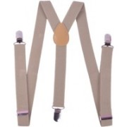 Homeshopeez Y- Back Suspenders for Men, Boys(Khaki)