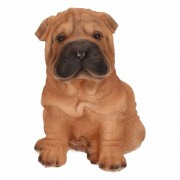 Farmwood Animals Tuin/huis beeldje Shar Pei hond