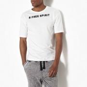 La Redoute Collections T-Shirt mit Schriftzug hinten