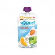 Happy Tot Greek Yogurt - Organic - Stage 4 - Or Ap Sw Pt - 4.22 oz - 1 Case