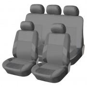 Univerzális üléshuzat garnitúra szürke (osztható) Exlusive