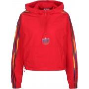 adidas Adicolor Half-Zip Crop Dames rood, 34