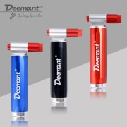 Deemount Top Quality Bicycle CO2 Cartridge Air Pump Mini Portable Ball Cycling Mountain Bike Tire Pump Inflator Dual Head