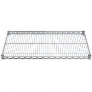 Akro-Mils AWS1836SHELF 18-Inch X 36-Inch NSF Approved Industrial Grade Chrome Wire Shelf, 4-Pack