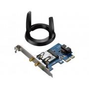 Asus WiFi Instickskort Asus PCE-AC55BT PCIe, WiFi, Bluetooth 1.2 Gbit/s 2.4 GHz, 5 GHz