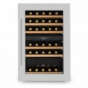 Vinsider 35D Built-in Wine Refrigerator 128 Litres 41 Bottles of Wine 2 Zones