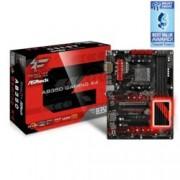 Дънна платка ASRock AB350-Gaming Fatal1ty K4, B350, AM4, DDR4, PCI-E(HDMI,DVI-D,D-Sub), 4x SATA 6Gb/s, 1x Ultra M.2, 1x M.2, 1x USB 3.1 Gen1 Type-C, ATX
