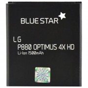 Blue Star Batteria Ioni Di Litio 3,7v 1500mah Per Lg Optimus 4x Hd P880