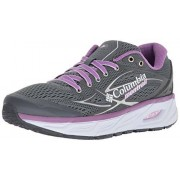 Columbia Montrail Variante X.s.r. para Mujer Trail Zapatillas de Running, Grey Ash, Phantom Purple, 8 M US