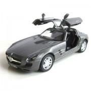 Kinsmart Licensed 5'' Mercedes-Benz SLS AMG Die Cast Car (Grey)