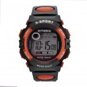 Reloj IFone Deporte LED Digital Impermeable Naranja