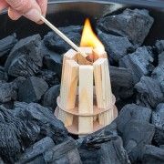 Allume feux en bois pour Barbecue
