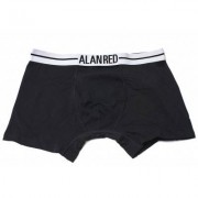 Alan Red Underwear Boxershort Lasting Black Two Pack