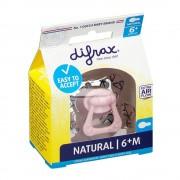 difrax® Schnuller - Natural +6 Monate