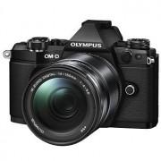 Olympus E-M5 Mark II kamerahus svart + M.Zuiko Digital ED 14-150/4,0-5,6 II