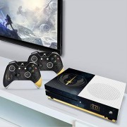 Controller Gear Authentic and Officially Licensed Star Wars Jedi: Fallen Order Jedi Starfield Xbox One S Console & Controller Skin Xbox One