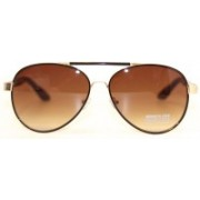 Kenneth Cole Aviator Sunglasses(Brown)