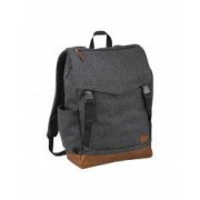 Rucsac Laptop Field and Co by AleXer CR 15 inch poliester 60 lana 40 gri breloc inclus din piele ecologica si metal