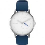 Ceas smartwatch Withings Move Timeless Chic, Argintiu/Albastru