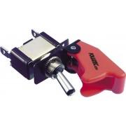 Foliatec Kill Switch On/Off schakelaar zonder LED - Cover rood - 1 stuk