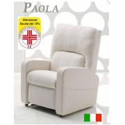 ErgoRelax Poltrona Relax Elettrica con 2 Motori e Alzapersona Sfoderabile Mod. Paola Prodotto Italiano