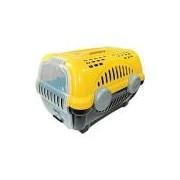 Caixa de Transporte Luxo Furação Pet N1 Amarela