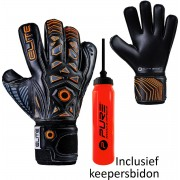 Elite - Combat - Keepershandschoenen - inclusief Keepersbidon - maat 10 - voetbal keepershandschoenen - keepershandschoen - Goalkeeper handschoen
