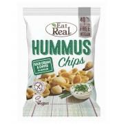 Eat Real Hummus Chips Tejföl-Snidling 45 g
