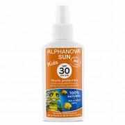 Alphanova Vegan Zonnebrandspray voor Kinderen (SPF 30)
