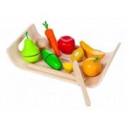 Set cu fructe si legume asortate