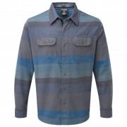 Sherpa - Tamang Shirt - Chemise taille S, gris/bleu/noir