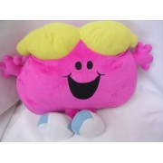 "Little Miss Chatterbox Plush Toy Pillow 12"" Collectible"