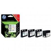 ORIGINAL HP Multipack nero / ciano / magenta / giallo C2P42AE 932 XL + 933 XL 1x cartuccia HP 932XL + 3x cartucce HP 933XL: c +m +y