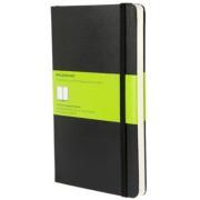 Moleskine - zápisník - čistý, černý L