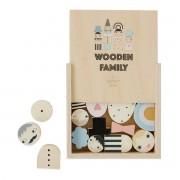 OYOY - Holzspielzeug Familie, natur