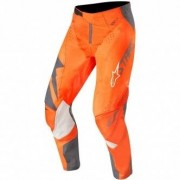 ALPINESTARS Pantalon Alpinestars Techstar 2019 Factory Anthracite / Orange Fluo