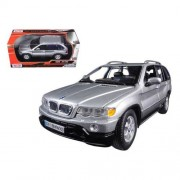 Motormax 73254S Bmw X5 Silver 1-24 Diecast Model Car