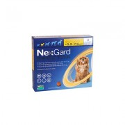 Nexgard Spectra Tab Small Dog 7.7-16.5 Lbs Yellow 3 Pack