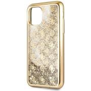 Guess 4G Peony Glitter iPhone 11 Pro Max készülékhez Gold (EU Blister)