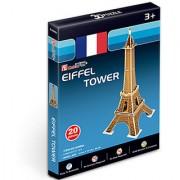Cubic Fun 20 -Pieces 3D PUZZLE EIFFEL TOWER MODEL SCULPTURE