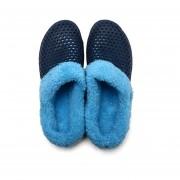 Caliente zapatos de piel transpirable suela antideslizante sandalias interior a hombres y zapatillas