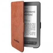 Калъф за eBook четец PocketBook Cover Shell, light brown/black, PBCSHBRBLK