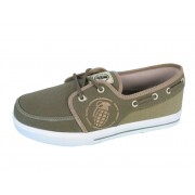 chaussures de tennis basses pour hommes - GRENADE - Boat shoes - GREEN