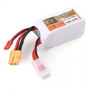 PandaMfee ZOP Power 11.1V 1000mAh 70C 3S 1P Lipo Battery JST XT60 Plug Rechargeable for RC Racing Drone Helicopter Car Boat Model