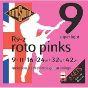 Rotosound Roto Pinks Double Deckers Electric Guitar Strings 2-Pack