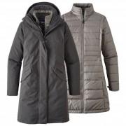 Patagonia - Women's Vosque 3-In-1 Parka - Veste 3 en 1 taille XL, noir/gris
