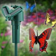 Decoratiune gradina Fluture solar zburator
