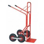 Lépcsozo áruszállító kocsi, molnárkocsi felfújt kerékkel 200 kg (MAGASSÁG/SZÉLESSÉG: 1270/700 mm) 6251