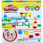 Play-Doh: számok és számolás gyurmakészlet
